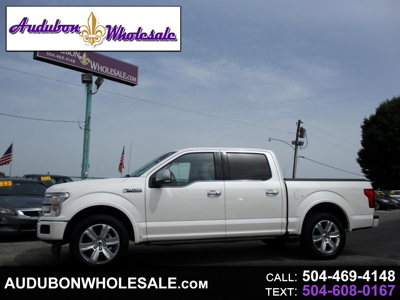 2018 Ford F-150 Platinum SuperCrew 5.5-ft. Bed 2WD