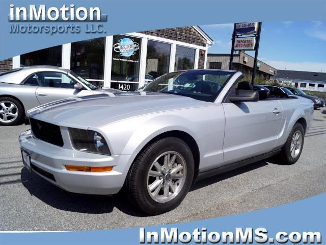 2006 Ford Mustang V6 Standard Convertible