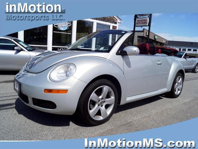2009 Volkswagen New Beetle S PZEV Convertible