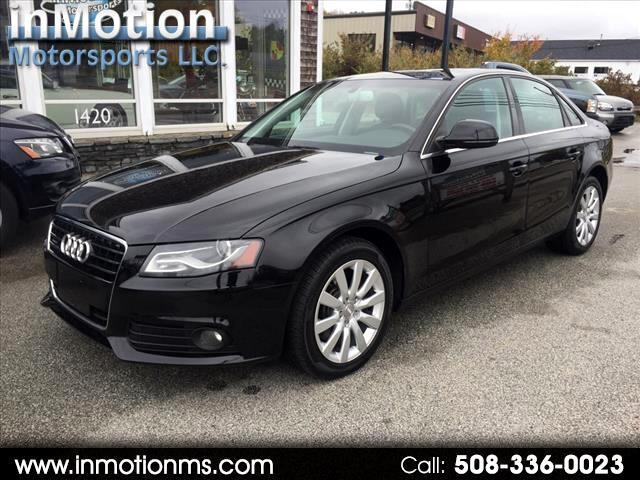 Audi A4 3.2 Sedan quattro Tiptronic 2009