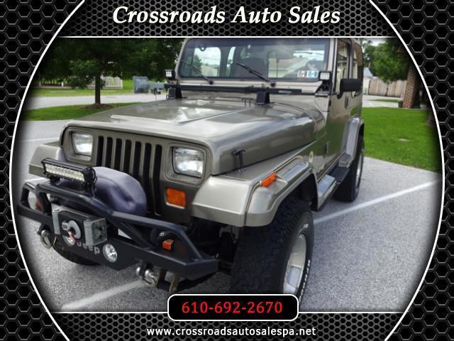 1990 Jeep Wrangler Sahara Soft Top