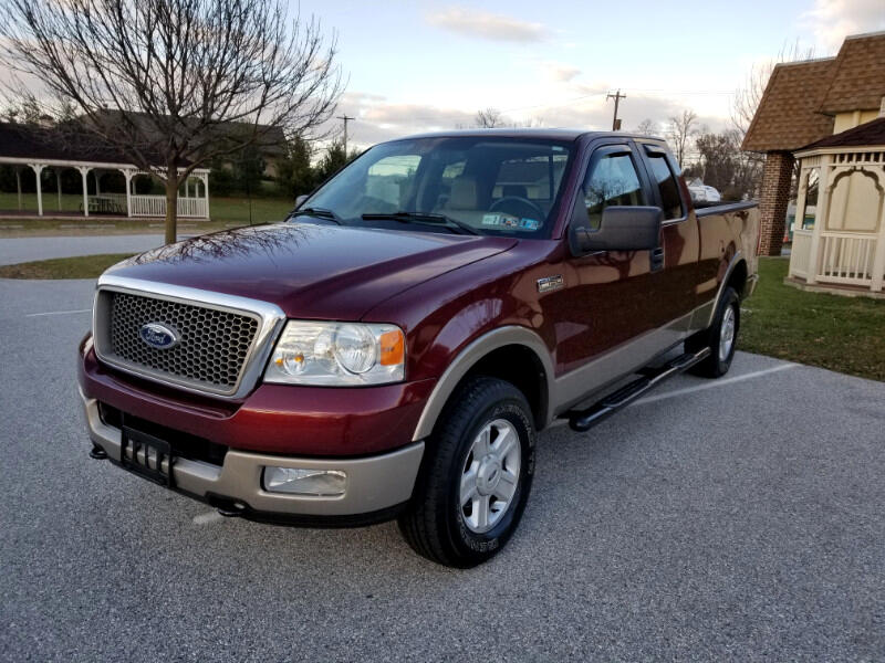 2005 Ford F-150 Lariat SuperCab 5.5-ft Box 4WD