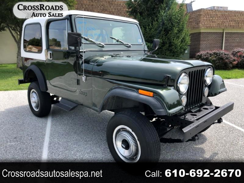 1983 AMC CJ7 Base