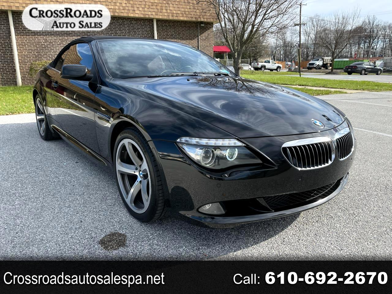 BMW 6-Series 650i Convertible 2008