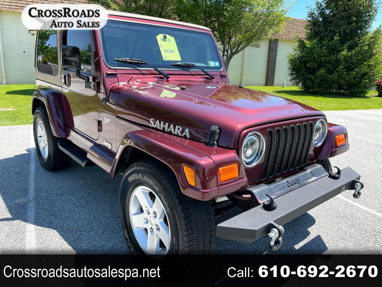 Jeep Wrangler Sahara 2002