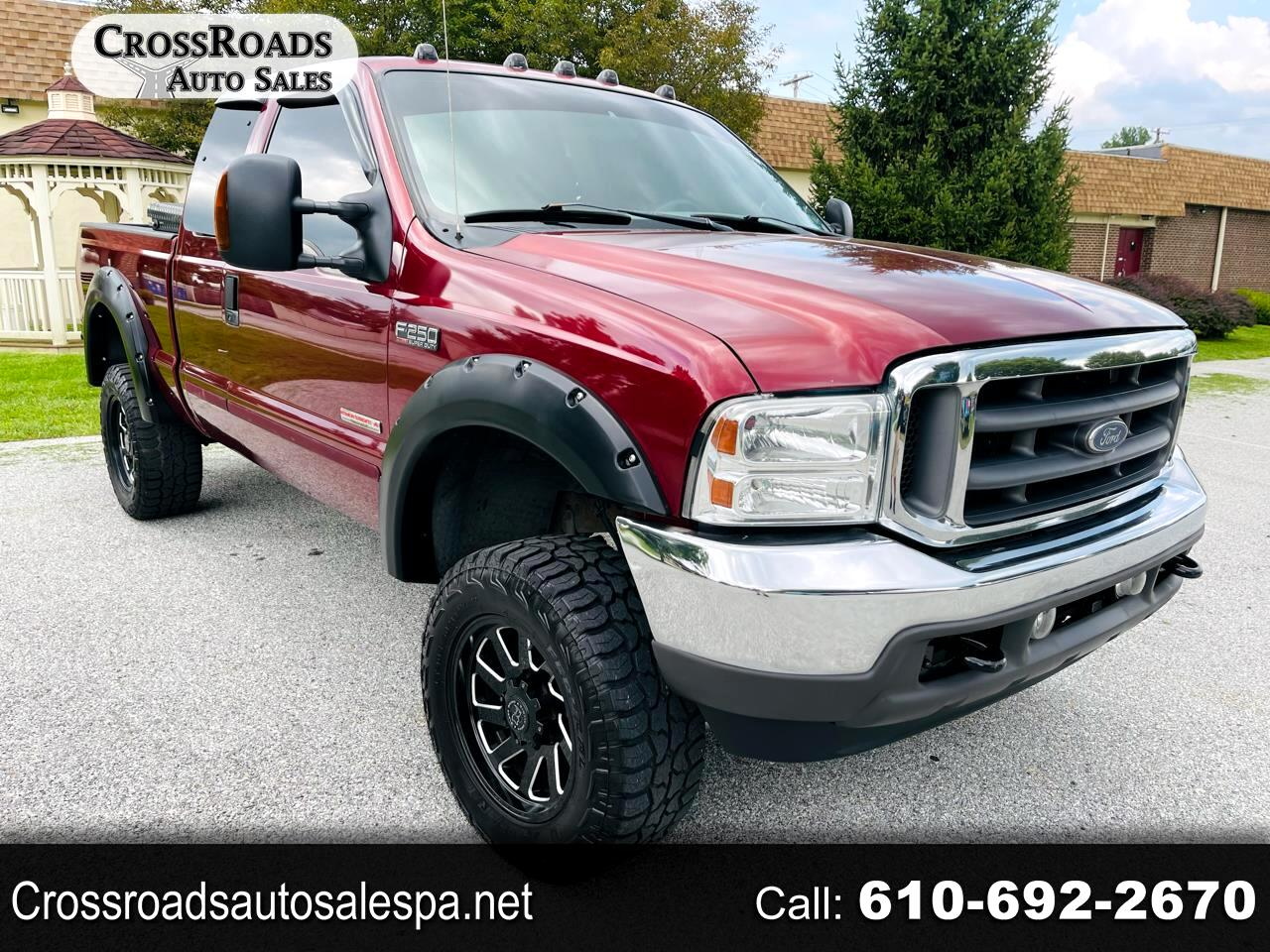 Ford F-250 SD Lariat SuperCab 4WD 2004