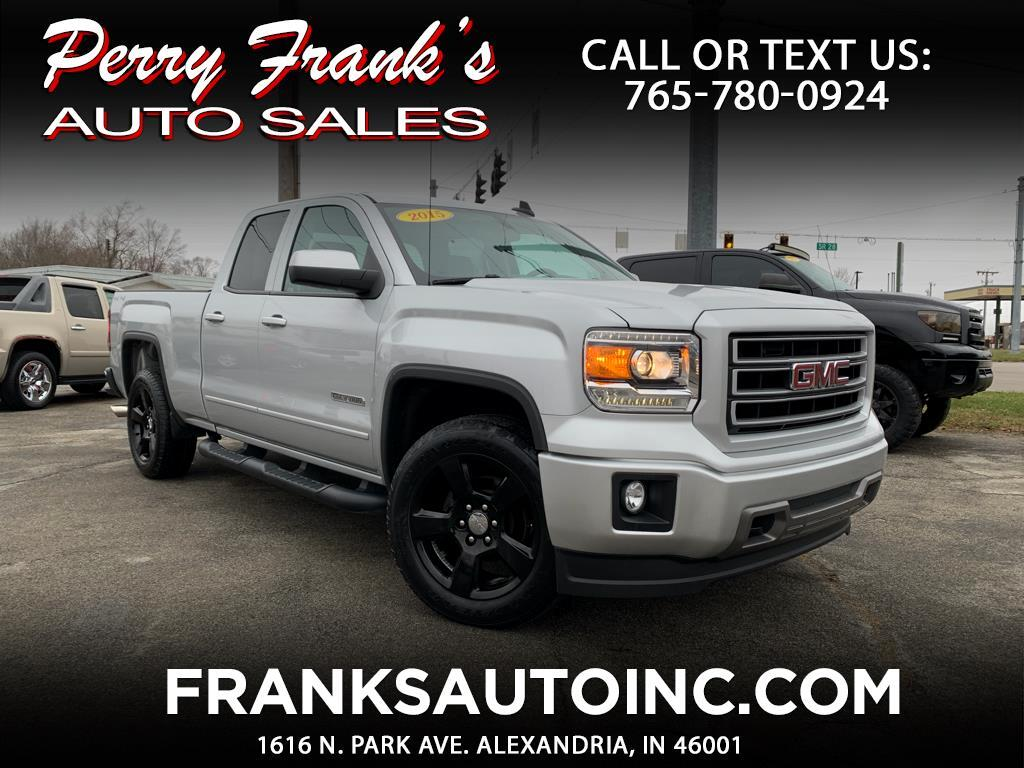 2015 GMC Sierra 1500 Elevation Double Cab 4WD