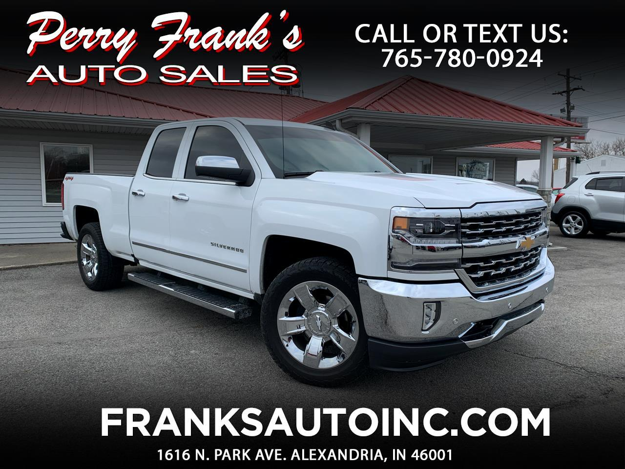 Chevrolet Silverado 1500 LTZ Double Cab Short Box 4WD 2017