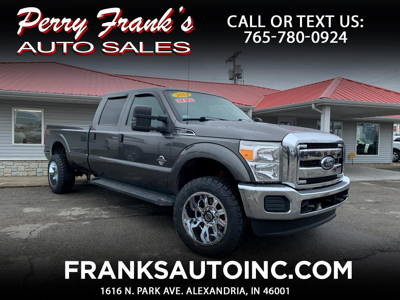 Ford F-350 SD XLT Crew Cab Long Bed 4WD 2011