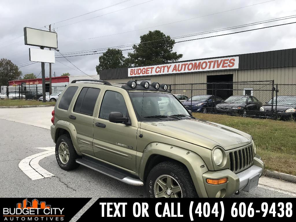 2002 Jeep Liberty Renegade 2WD