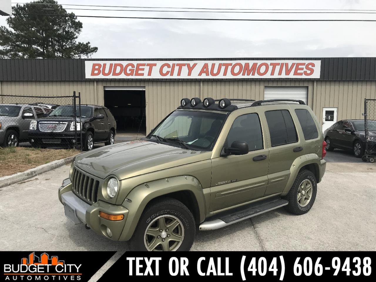 2002 Jeep Liberty Renegade 2WD