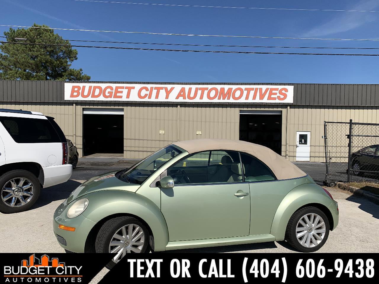 Volkswagen New Beetle SE Convertible 2008