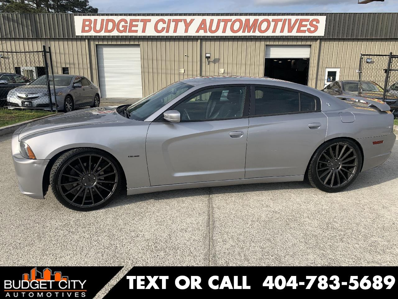 Dodge Charger 4dr Sdn RT Max RWD 2011