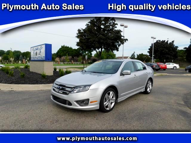 2012 Ford Fusion 4dr Sdn SPORT FWD