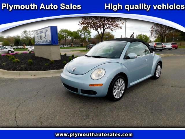 2009 Volkswagen New Beetle S Convertible