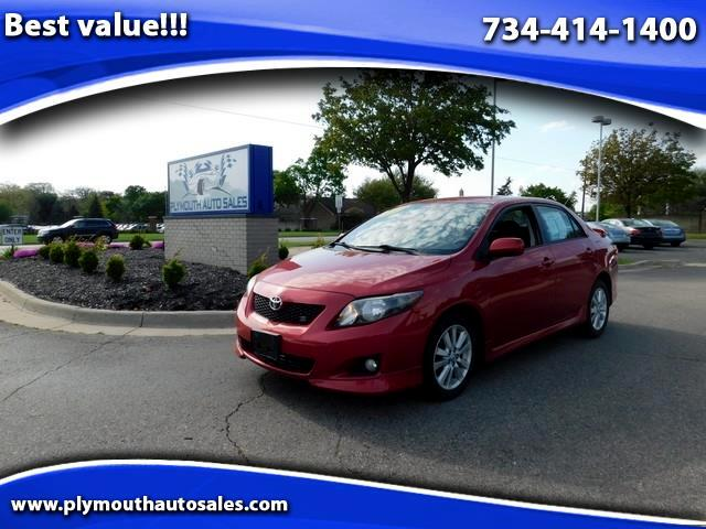 2010 Toyota Corolla Base 4-Speed AT