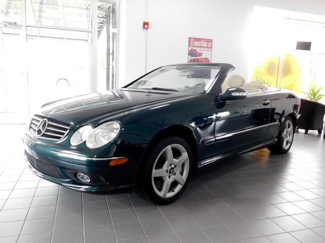 2005 Mercedes-Benz CLK-Class CLK500 Cabriolet