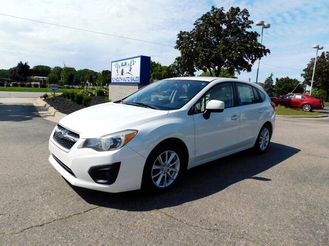 Subaru Impreza Premium 5-Door w/All Weather Package 2012