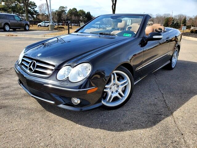 Mercedes-Benz CLK-Class CLK550 Cabriolet 2009