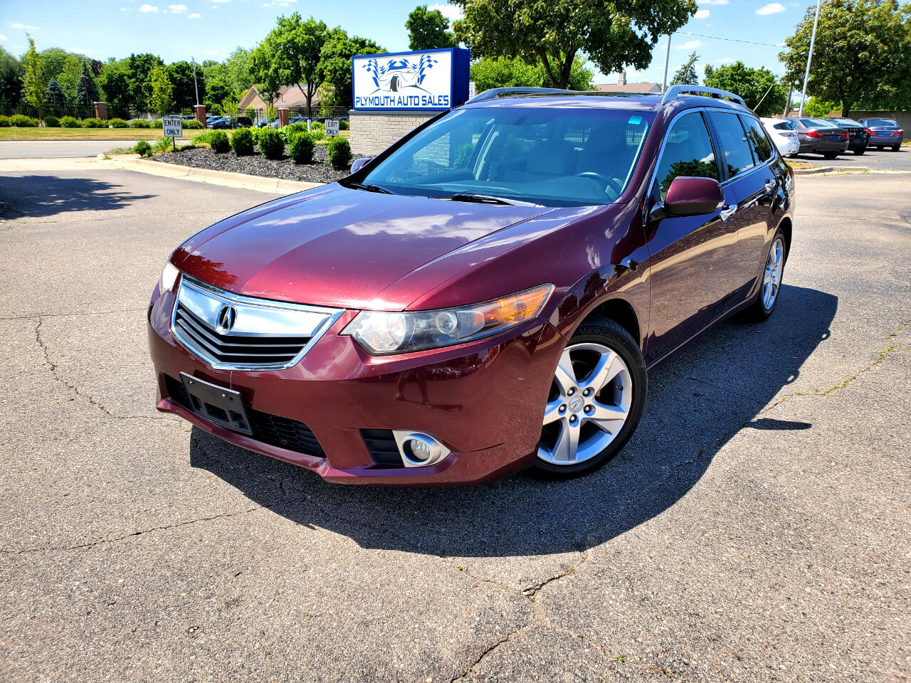 Acura TSX 5-Spd AT w/ Technology Package 2012
