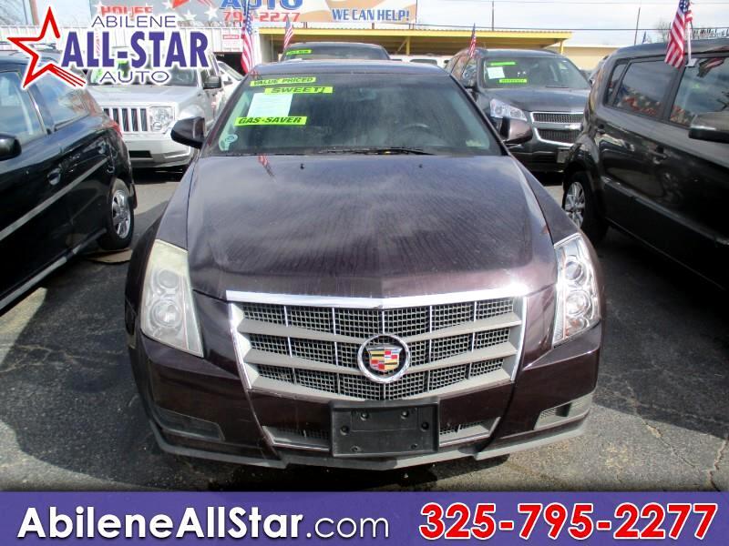 2009 Cadillac CTS 4dr Sdn RWD w/1SA