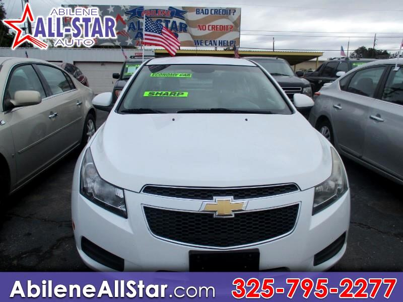 Chevrolet Cruze 4dr Sdn LT w/1FL 2012