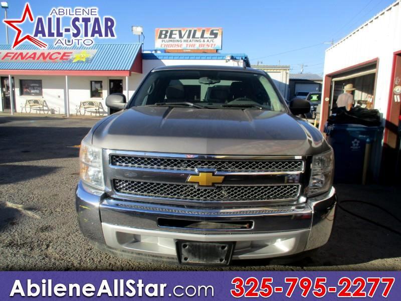 """Chevrolet Silverado 1500 2WD Ext Cab 143.5"""" LS 2012"""