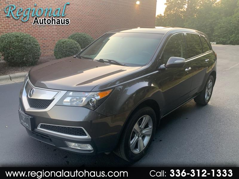 2012 Acura MDX 4dr SUV AT