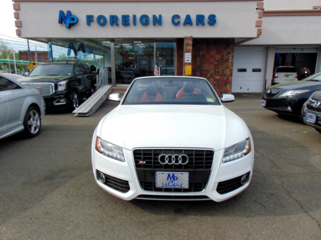 2011 Audi S5 2dr Cabriolet Premium Plus