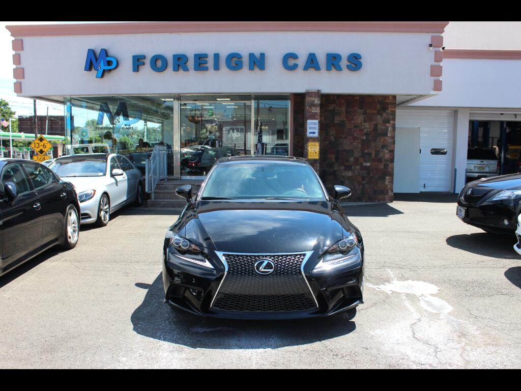 2014 Lexus IS 250 4dr Sport Sdn Auto AWD