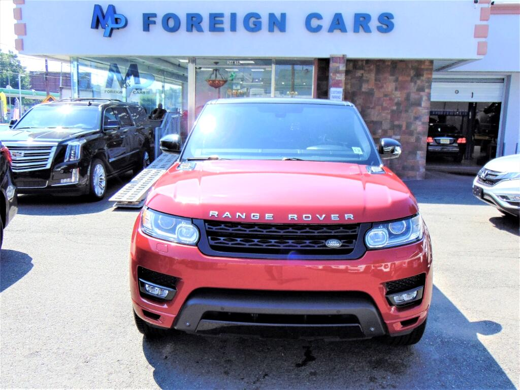 2014 Land Rover Range Rover Sport 4WD 4dr SC Autobiography