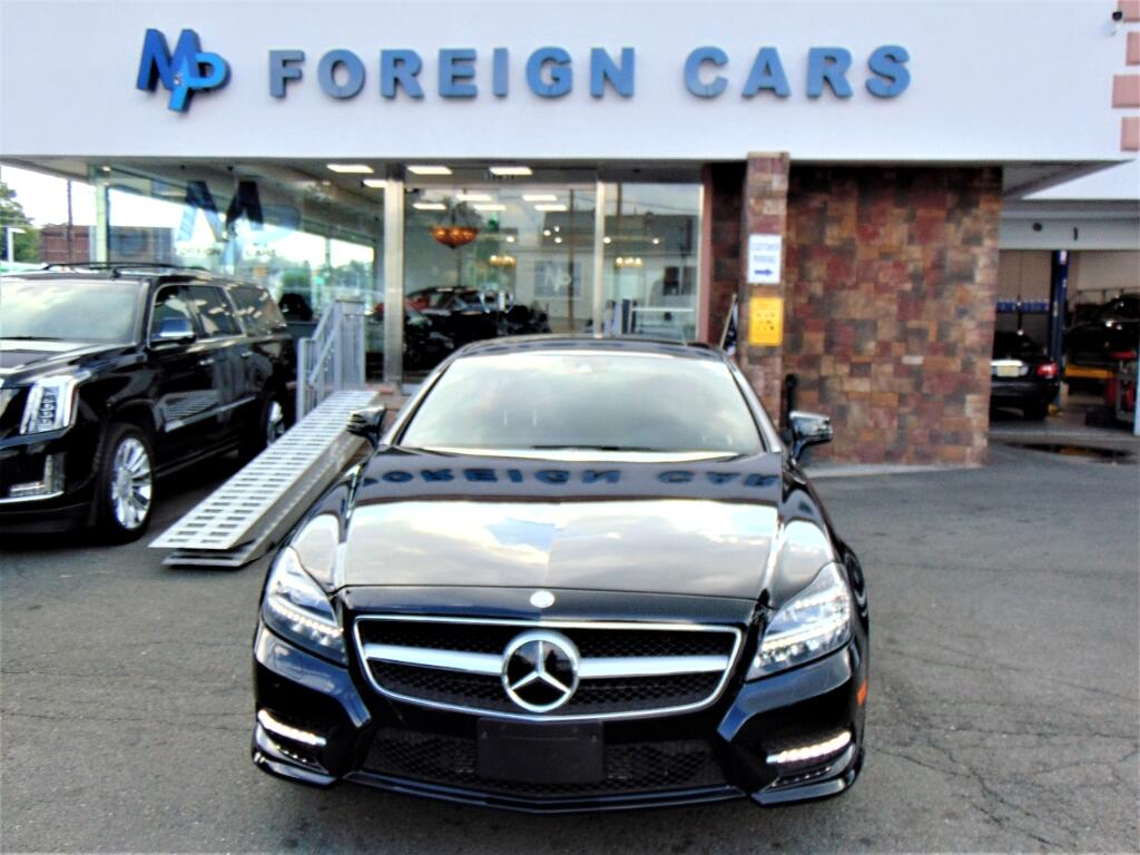 2014 Mercedes-Benz CLS550 4MATIC