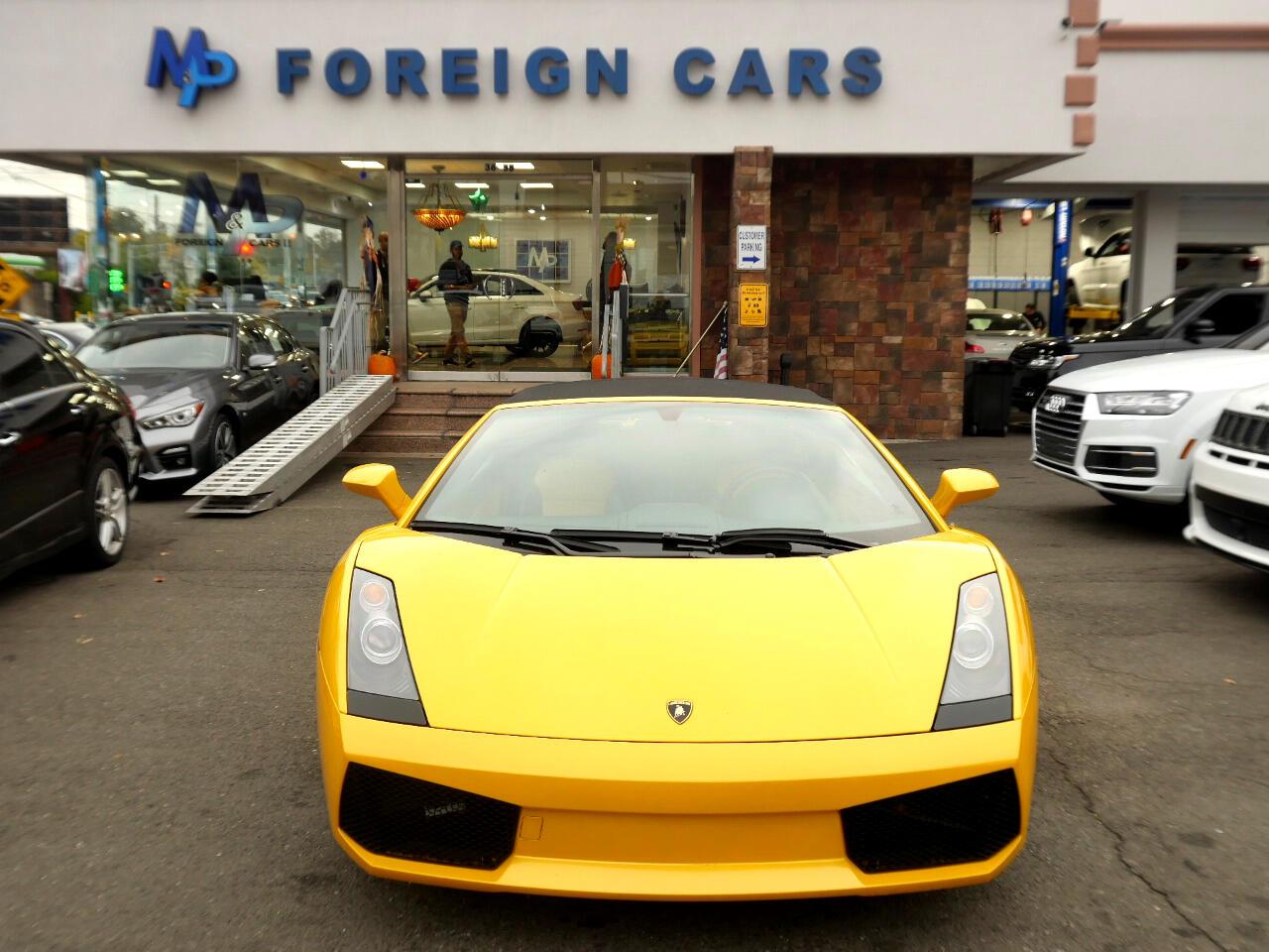2007 Lamborghini Gallardo 2dr Conv