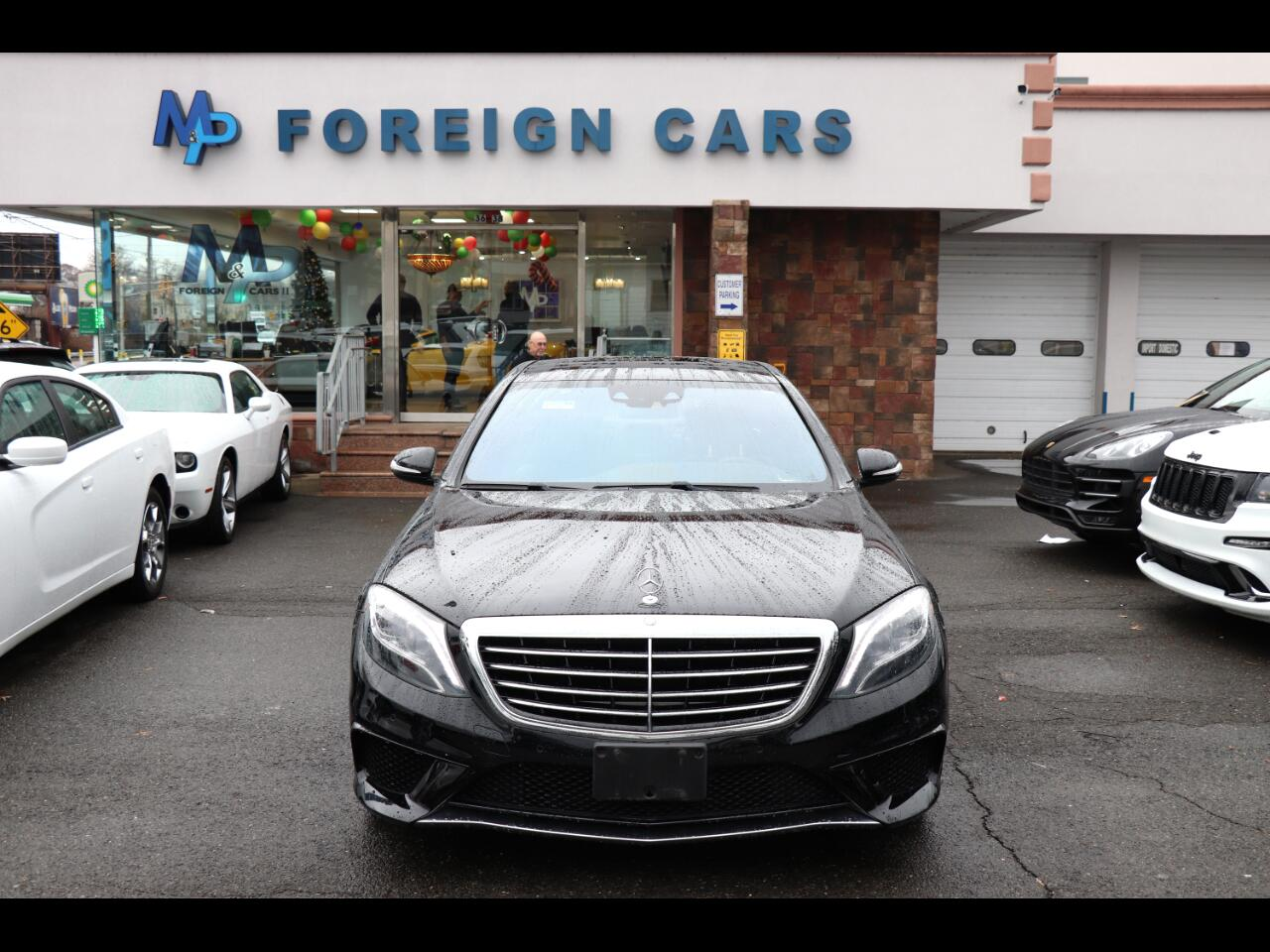 2014 Mercedes-Benz S-Class 4dr Sdn S 63 AMG 4MATIC