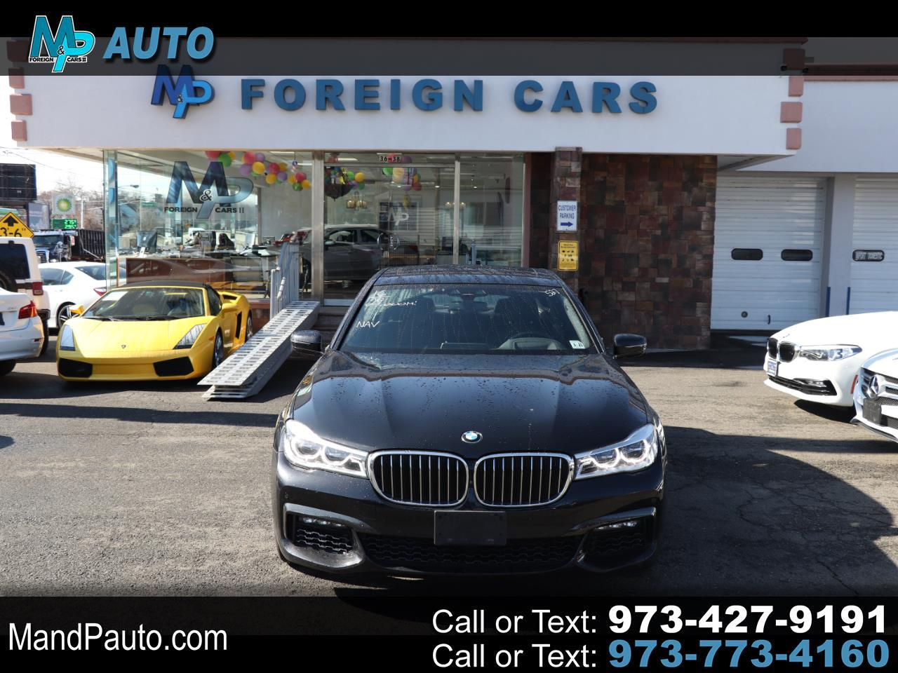 BMW 7 Series 4dr Sdn 750i xDrive AWD 2016