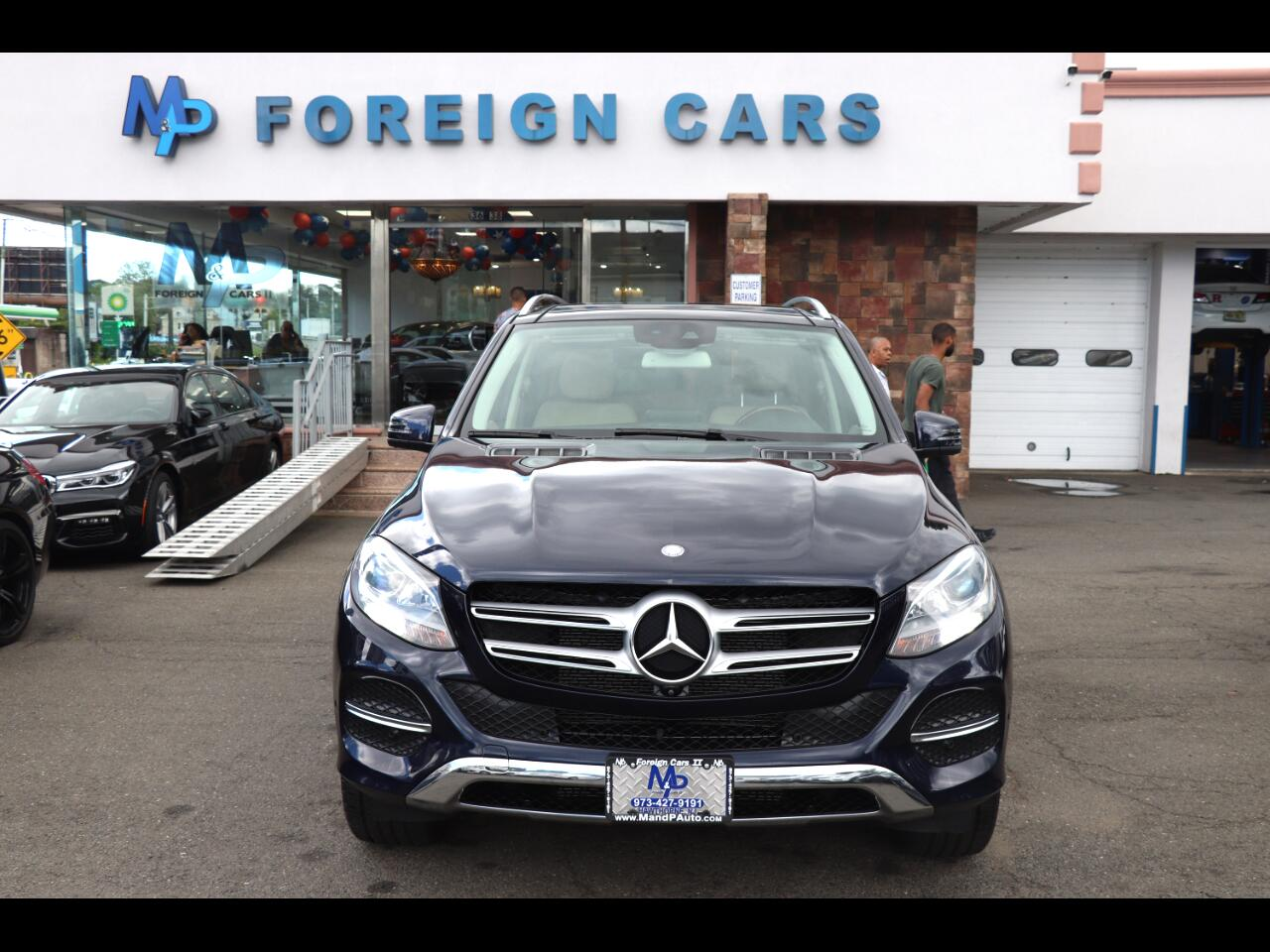 2016 Mercedes-Benz GLE 4MATIC 4dr GLE 350