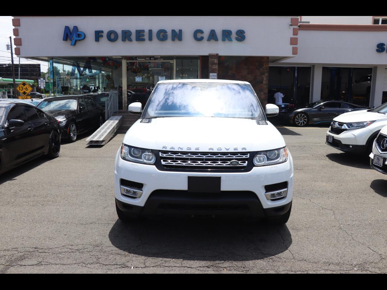 2016 Land Rover Range Rover Sport 4WD 4dr V6 HSE
