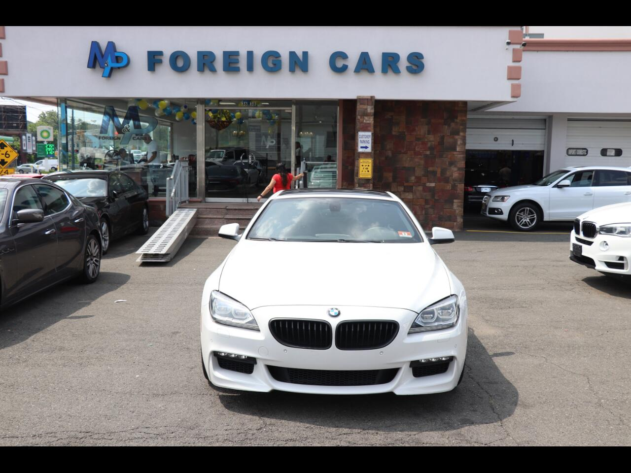 2012 BMW 6 Series 2dr Cpe 650i xDrive