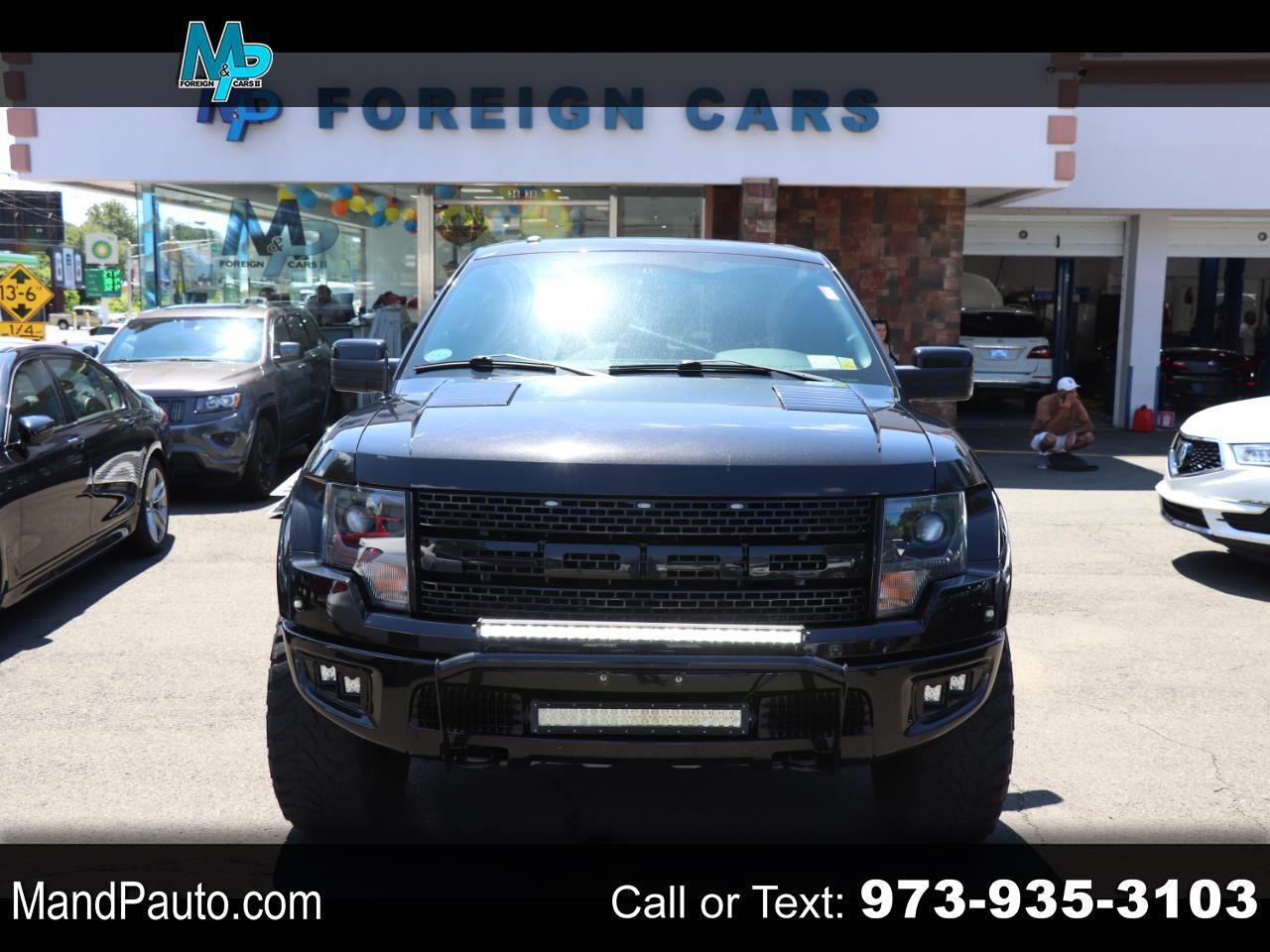 "Ford F-150 4WD SuperCrew 145"" SVT Raptor 2014"