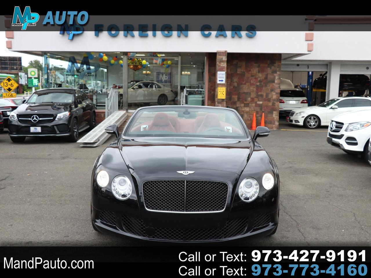 2014 Bentley Continental GT Speed 2dr Conv