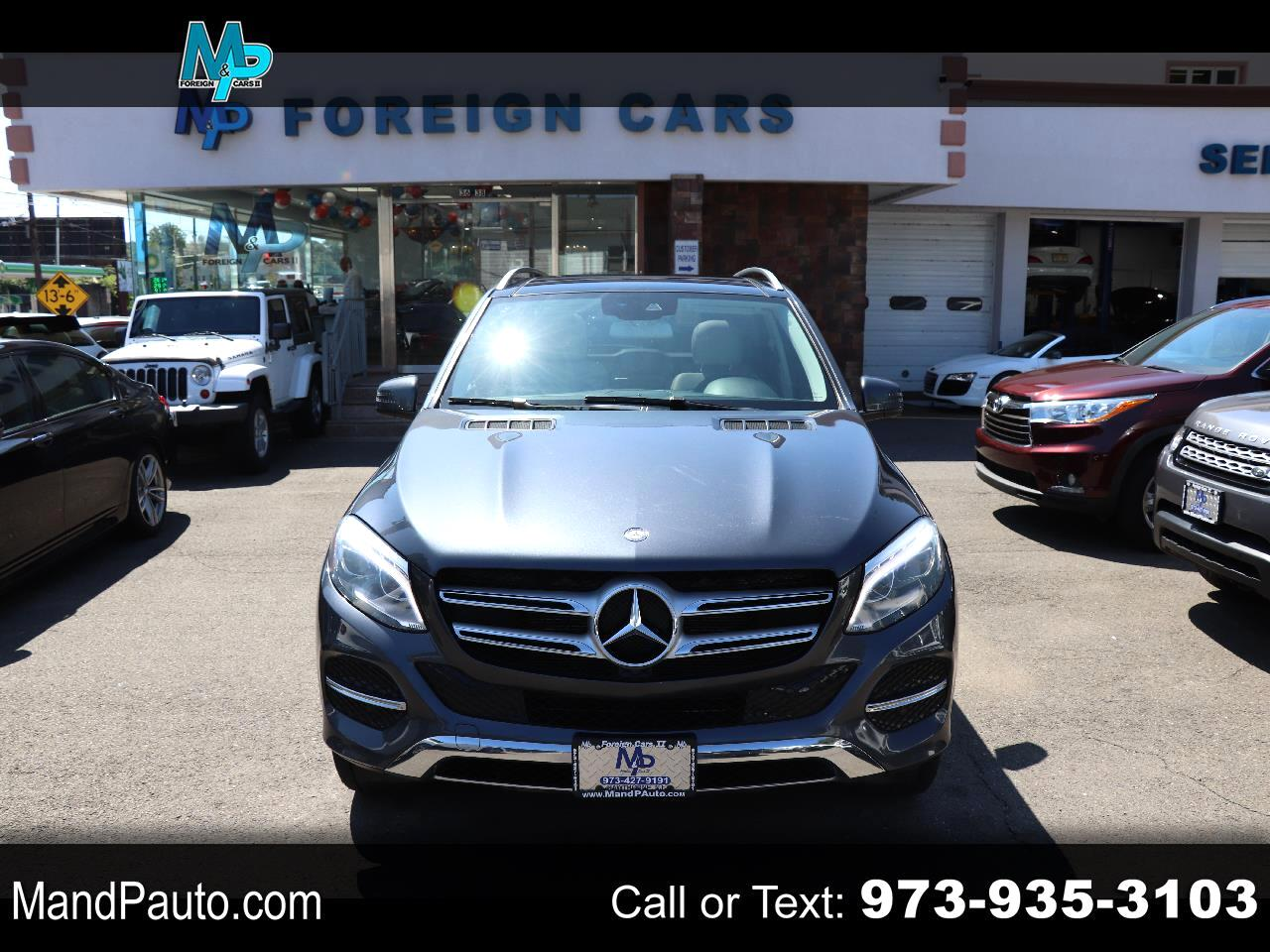 Mercedes-Benz GLE 4MATIC 4dr GLE 350 2016