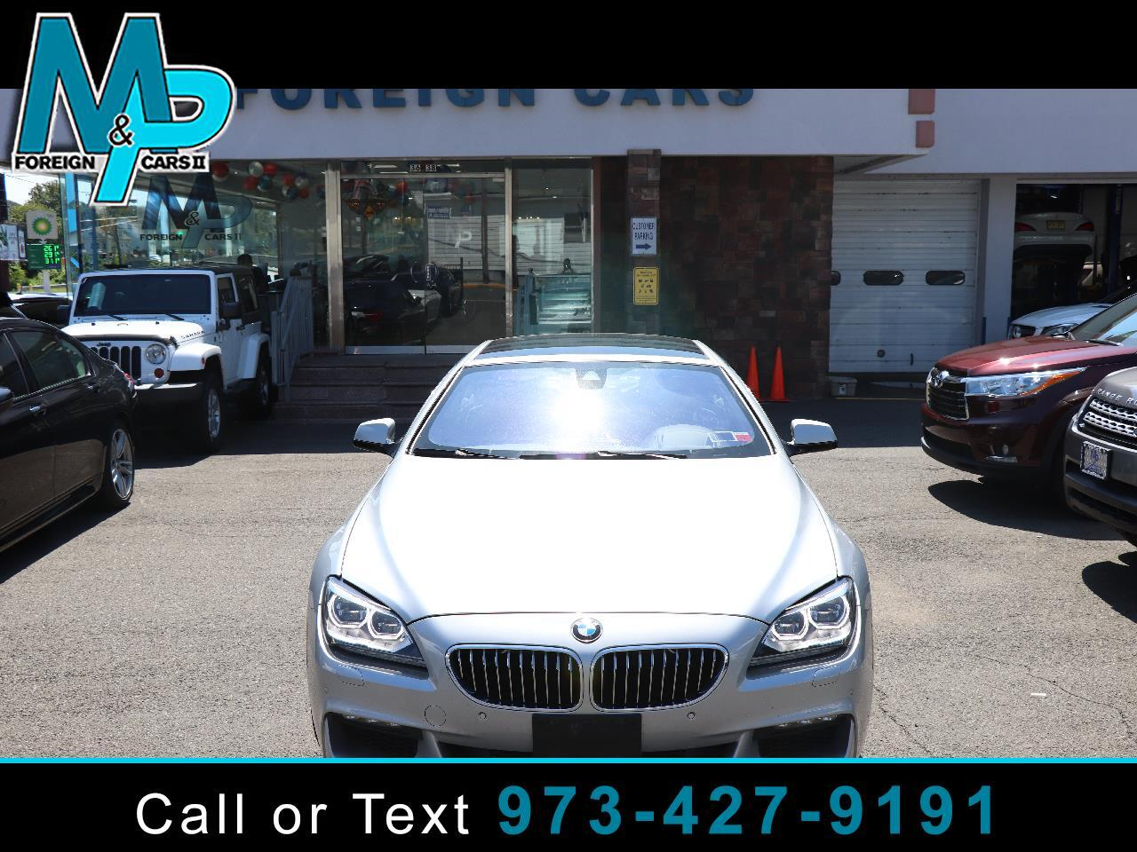 BMW 6 Series 4dr Sdn 640i xDrive AWD Gran Coupe 2015
