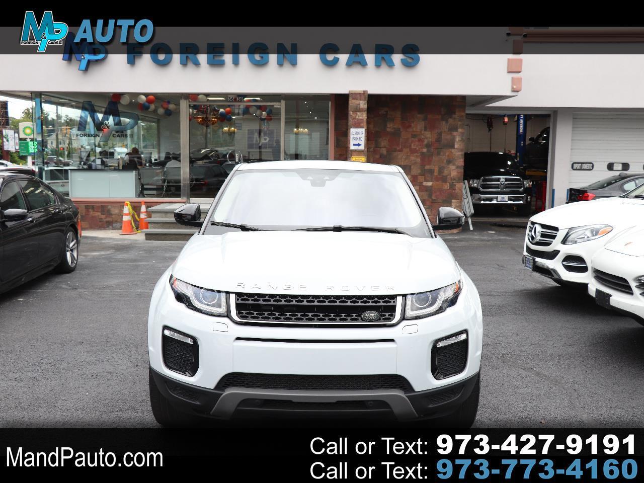 2017 Land Rover Range Rover Evoque 5 Door SE