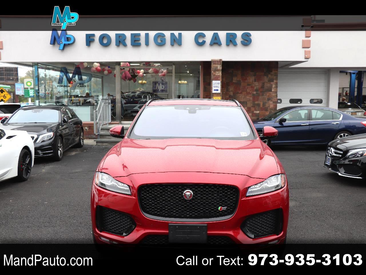 Jaguar F-Pace S AWD 2017