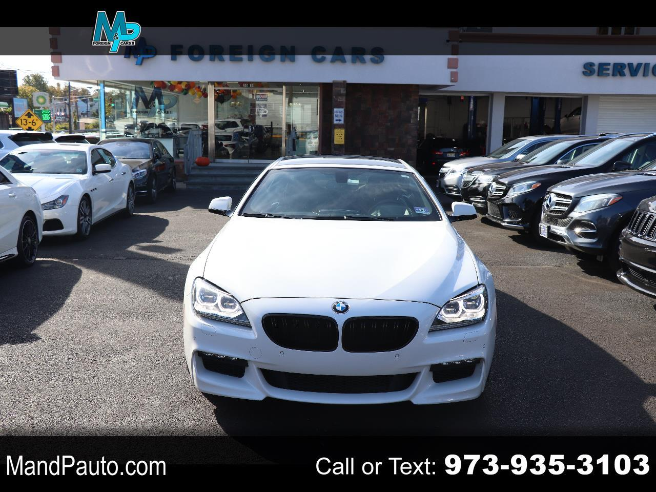 BMW 6 Series 4dr Sdn 640i xDrive AWD Gran Coupe 2014
