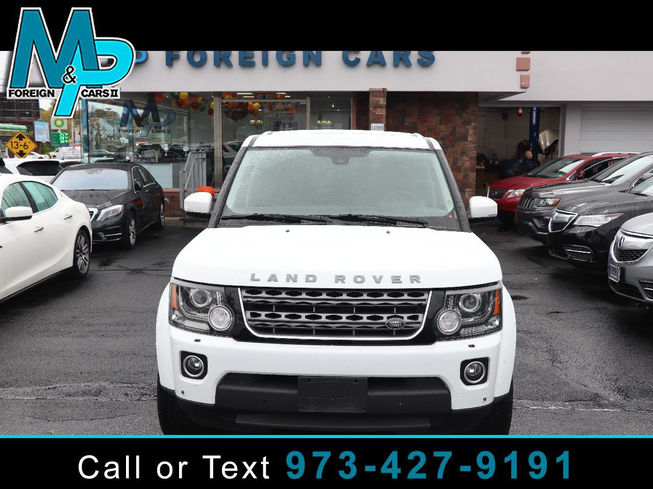Land Rover LR4 4WD 4dr HSE *Ltd Avail* 2016