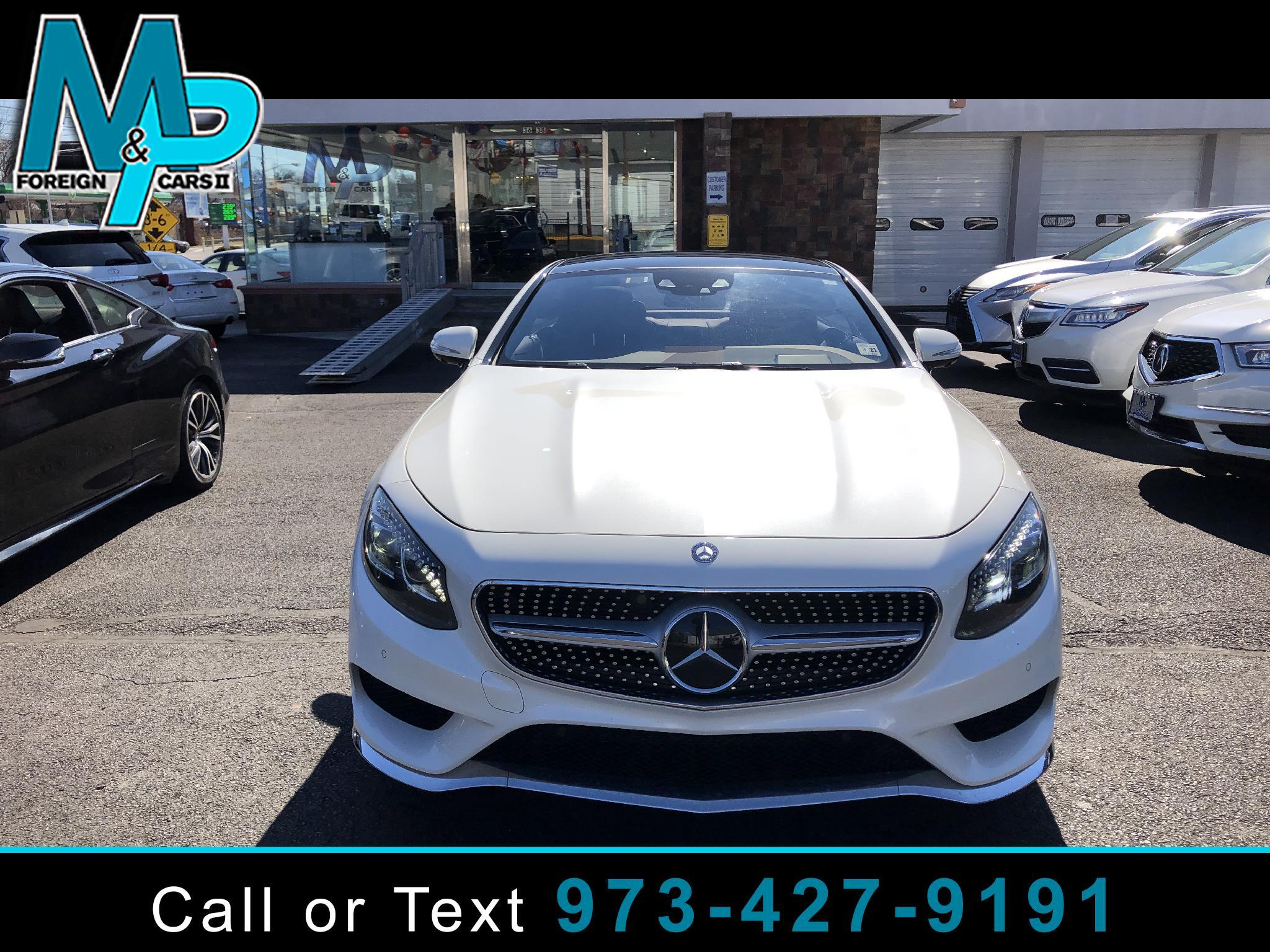 Mercedes-Benz S-Class 2dr Cpe S 550 4MATIC 2016