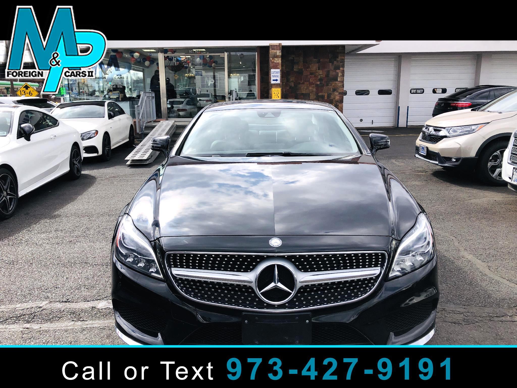 Mercedes-Benz CLS 4dr Sdn CLS 400 4MATIC 2016