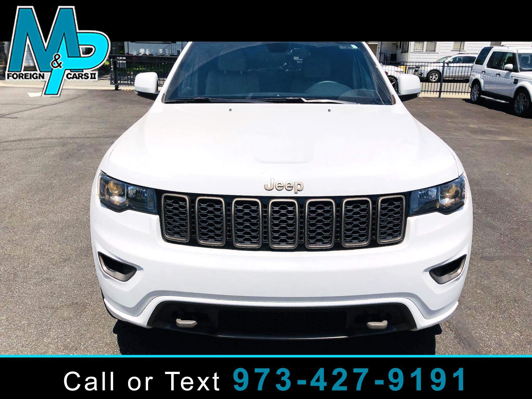 Jeep Grand Cherokee Limited 75th Anniversary Edition 4x4 *Ltd Avail* 2017