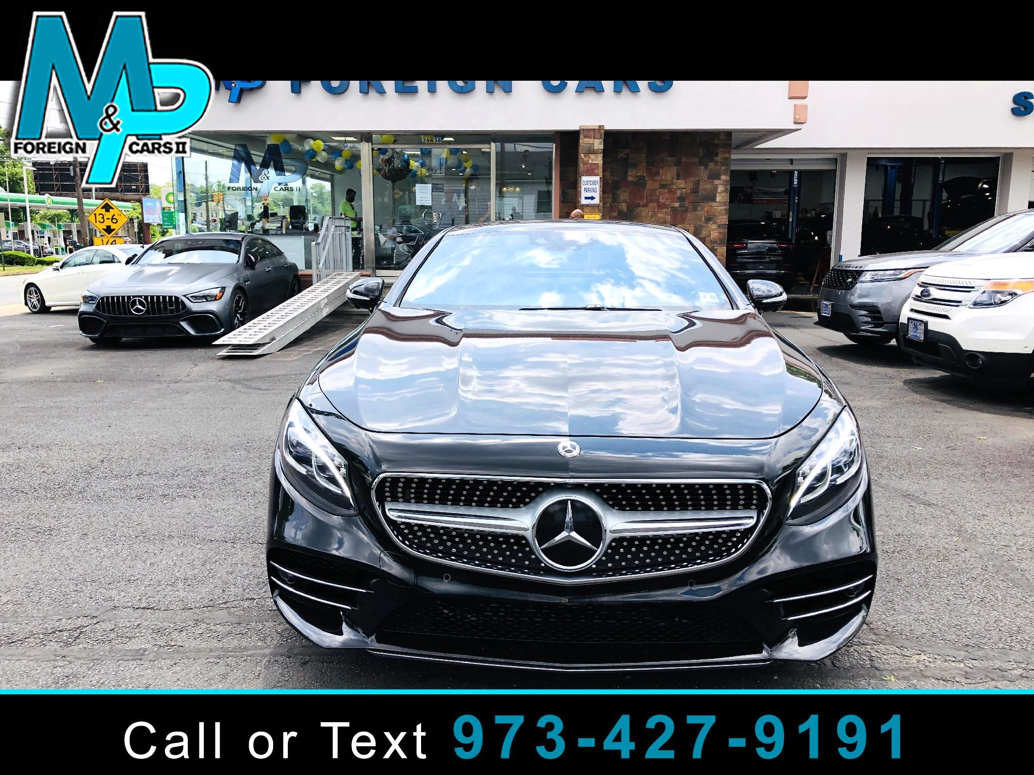 Mercedes-Benz S-Class S 560 4MATIC Coupe 2018